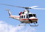 voyagerさんが、東京ヘリポートで撮影した朝日航洋 412の航空フォト(飛行機 写真・画像)