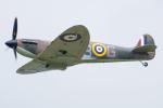 Tomo-Papaさんが、フェアフォード空軍基地で撮影したイギリス個人所有 329 Spitfire Mk2Aの航空フォト(写真)