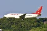 あしゅーさんが、福岡空港で撮影したイースター航空 737-73Vの航空フォト(飛行機 写真・画像)