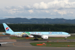 ATOMさんが、新千歳空港で撮影した大韓航空 777-3B5/ERの航空フォト(写真)