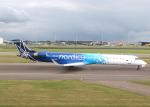voyagerさんが、アムステルダム・スキポール国際空港で撮影したノルディカ CL-600-2D24 Regional Jet CRJ-900ERの航空フォト(写真)
