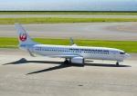 じーく。さんが、中部国際空港で撮影した日本トランスオーシャン航空 737-8Q3の航空フォト(飛行機 写真・画像)