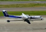 じーく。さんが、中部国際空港で撮影したANAウイングス DHC-8-402Q Dash 8の航空フォト(飛行機 写真・画像)