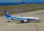 じーく。さんが、中部国際空港で撮影した全日空 737-881の航空フォト(飛行機 写真・画像)
