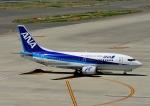 じーく。さんが、中部国際空港で撮影したANAウイングス 737-5L9の航空フォト(飛行機 写真・画像)