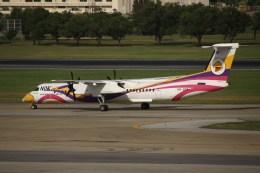 masa707さんが、ドンムアン空港で撮影したノックエア DHC-8-402Q Dash 8の航空フォト(飛行機 写真・画像)