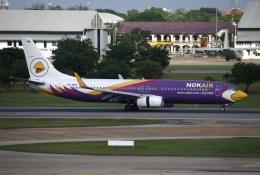 masa707さんが、ドンムアン空港で撮影したノックエア 737-8ASの航空フォト(飛行機 写真・画像)