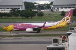 masa707さんが、ドンムアン空港で撮影したノックエア 737-86Nの航空フォト(飛行機 写真・画像)
