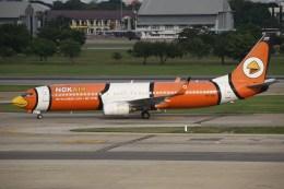 masa707さんが、ドンムアン空港で撮影したノックエア 737-83Nの航空フォト(飛行機 写真・画像)