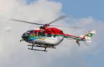 サボリーマンさんが、松山空港で撮影した愛媛県消防防災航空隊 BK117C-2の航空フォト(写真)
