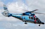 voyagerさんが、東京ヘリポートで撮影した警視庁 EC155B1の航空フォト(写真)