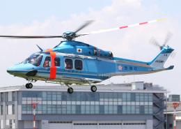 voyagerさんが、東京ヘリポートで撮影した警視庁 AW139の航空フォト(写真)