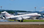 Dojalanaさんが、函館空港で撮影したプライベートエア BD-700 Global Express/5000/6000の航空フォト(飛行機 写真・画像)