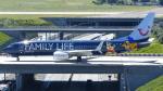 誘喜さんが、パリ オルリー空港で撮影したジェットエアフライ 737-8K5の航空フォト(写真)