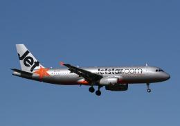 長月ぽっぷさんが、オークランド空港で撮影したジェットスター A320-232の航空フォト(飛行機 写真・画像)