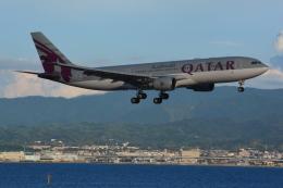shining star ✈さんが、関西国際空港で撮影したカタール航空 A330-202の航空フォト(飛行機 写真・画像)