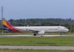 サボリーマンさんが、米子空港で撮影したアシアナ航空 A321-231の航空フォト(飛行機 写真・画像)