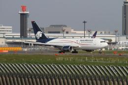 クルーズさんが、成田国際空港で撮影したアエロメヒコ航空 767-25D/ERの航空フォト(飛行機 写真・画像)