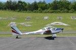 フォークリフト操縦士さんが、ふくしまスカイパークで撮影した日本個人所有 H-36 Dimonaの航空フォト(写真)