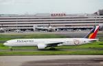 ハピネスさんが、羽田空港で撮影したフィリピン航空 777-3F6/ERの航空フォト(飛行機 写真・画像)