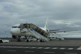 とらとらさんが、ヨハネ・パウロ2世空港で撮影したアゾレス・エアラインズ A320-214の航空フォト(飛行機 写真・画像)