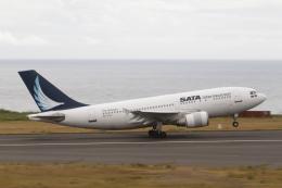 とらとらさんが、ヨハネ・パウロ2世空港で撮影したSATA インターナショナル A310-304の航空フォト(飛行機 写真・画像)