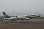 とらとらさんが、ヨハネ・パウロ2世空港で撮影したライアンエア 737-8ASの航空フォト(写真)