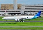 じーく。さんが、羽田空港で撮影したガルーダ・インドネシア航空 A330-343Eの航空フォト(写真)