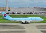 じーく。さんが、羽田空港で撮影した大韓航空 747-4B5の航空フォト(飛行機 写真・画像)