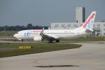 セブンさんが、ミュンヘン・フランツヨーゼフシュトラウス空港で撮影したエア・ヨーロッパ 737-85Pの航空フォト(飛行機 写真・画像)