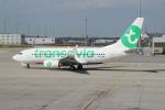 セブンさんが、ミュンヘン・フランツヨーゼフシュトラウス空港で撮影したトランサヴィア 737-7K2の航空フォト(飛行機 写真・画像)