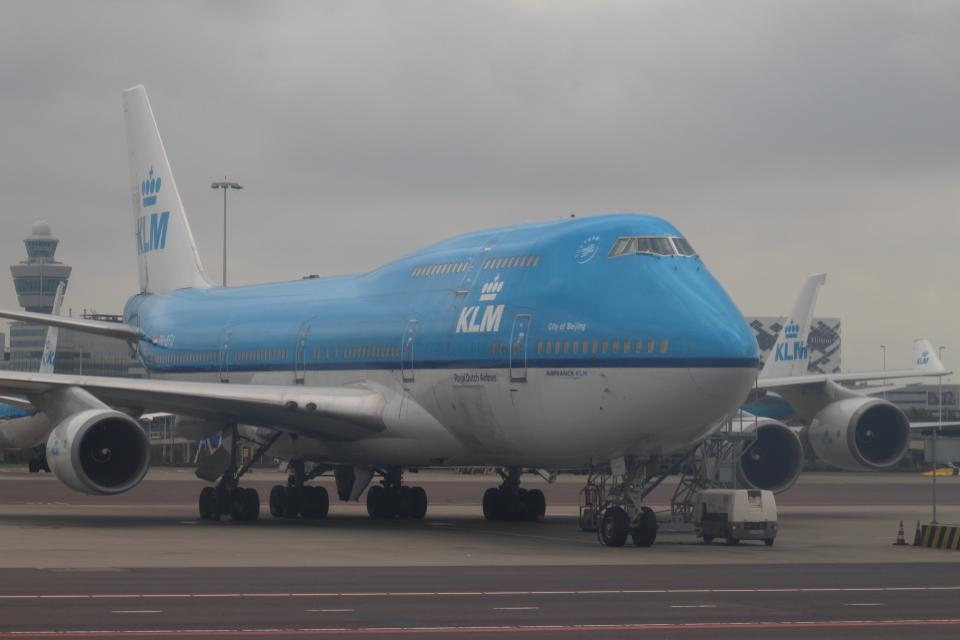 セブンさんのKLMオランダ航空 Boeing 747-400 (PH-BFU) 航空フォト