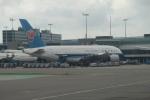 セブンさんが、アムステルダム・スキポール国際空港で撮影した中国南方航空 A380-841の航空フォト(飛行機 写真・画像)