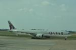 snow_shinさんが、タンソンニャット国際空港で撮影したカタール航空 777-3DZ/ERの航空フォト(飛行機 写真・画像)