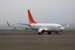 北の熊さんが、新千歳空港で撮影したハンワ・ケミカル 737-7HF BBJの航空フォト(写真)