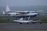 北の熊さんが、新千歳空港で撮影したウェルズ・ファーゴ・バンク・ノースウェスト Caravan Amphibianの航空フォト(写真)