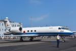 パンダさんが、千歳基地で撮影した航空自衛隊 U-4 Gulfstream IV (G-IV-MPA)の航空フォト(写真)