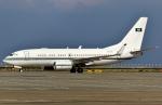 SKY TEAM B-6053さんが、中部国際空港で撮影したサウジアラビア王室空軍 737-7DP BBJの航空フォト(写真)