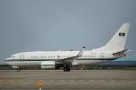 りんきゅーさんが、中部国際空港で撮影したサウジアラビア王室空軍 737-7DP BBJの航空フォト(写真)
