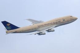 多摩川崎2Kさんが、羽田空港で撮影したサウジアラビア王国政府 747-3G1の航空フォト(飛行機 写真・画像)
