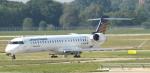 セブンさんが、ミュンヘン・フランツヨーゼフシュトラウス空港で撮影したルフトハンザ・シティライン CL-600-2D24 Regional Jet CRJ-900LRの航空フォト(飛行機 写真・画像)
