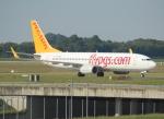 セブンさんが、ミュンヘン・フランツヨーゼフシュトラウス空港で撮影したペガサス・エアラインズ 737-82Rの航空フォト(飛行機 写真・画像)
