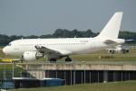 セブンさんが、ミュンヘン・フランツヨーゼフシュトラウス空港で撮影したオリンパス・エアウェイズ A319-112の航空フォト(飛行機 写真・画像)