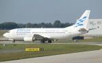 セブンさんが、ミュンヘン・フランツヨーゼフシュトラウス空港で撮影したエリンエア 737-3Q8の航空フォト(飛行機 写真・画像)