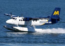 voyagerさんが、バンクーバー・ハーバー・ウォーター空港で撮影したハーバー・エア・シープレーンズ DHC-6-100 Twin Otterの航空フォト(写真)
