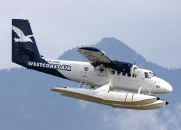 voyagerさんが、バンクーバー・ハーバー・ウォーター空港で撮影したウェスト・コースト・エア DHC-6-100 Twin Otterの航空フォト(飛行機 写真・画像)