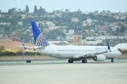 トラッキーさんが、サンディエゴ国際空港で撮影したユナイテッド航空 737-824の航空フォト(飛行機 写真・画像)