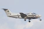 Scotchさんが、厚木飛行場で撮影したアメリカ海軍 UC-12F Super King Air (B200C)の航空フォト(飛行機 写真・画像)