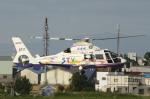 とらとらさんが、札幌飛行場で撮影した北海道航空 AS365N2 Dauphin 2の航空フォト(飛行機 写真・画像)