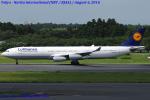 Chofu Spotter Ariaさんが、成田国際空港で撮影したルフトハンザドイツ航空 A340-313Xの航空フォト(写真)